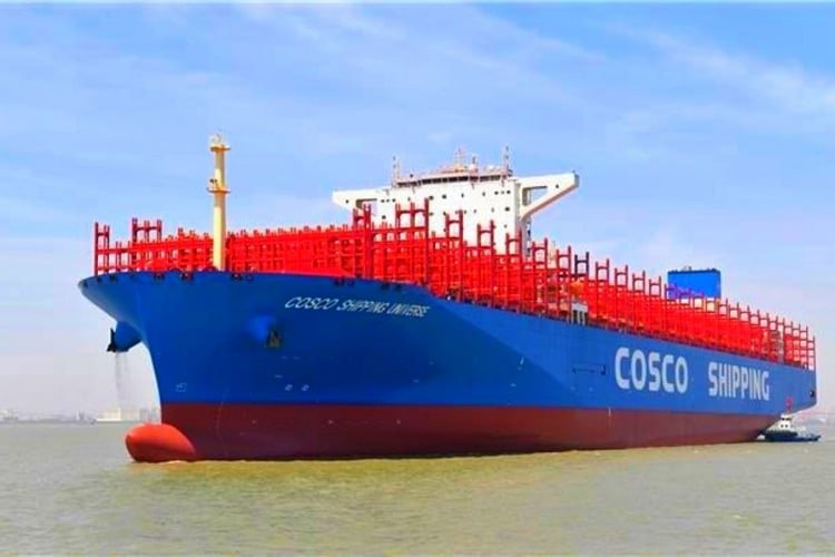 cosco-shipping-universe-world's-largest-container-ship